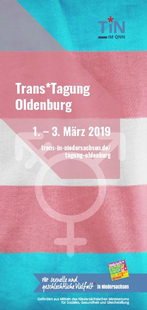 Trans*Tagung 2019 Programmflyer