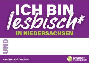 Kampagnen-Postkarte lila