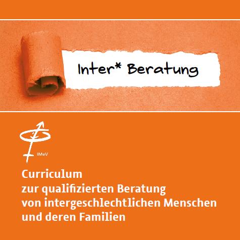 Cover des Curriculums für inter* Beratung
